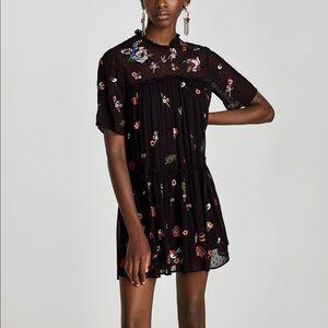 Zara Woman line mini dress